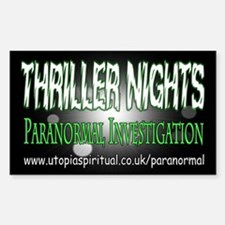 ...T.N Paranormal Team 2... Rectangle Decal