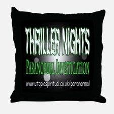 ...T.N Paranormal Team 2... Throw Pillow