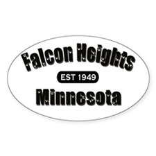 Falcon Heights Est 1949 Oval Decal