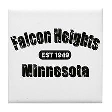 Falcon Heights Est 1949 Tile Coaster