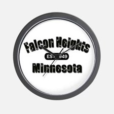 Falcon Heights Est 1949 Wall Clock