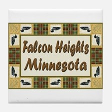 Falcon Heights Loon Tile Coaster