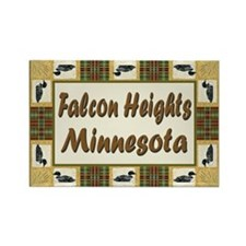 Falcon Heights Loon Rectangle Magnet