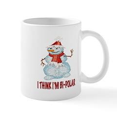BI-POLAR SNOWMAN Mug