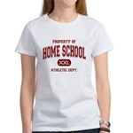 Property of Home School Athletic Dept. Women's T-S