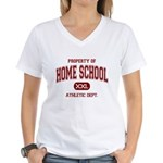 Property of Home School Athletic Dept. Women's V-N