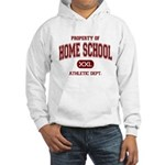 Property of Home School Athletic Dept. Hooded Swea