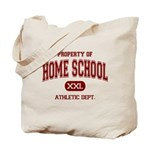 Property of Home School Athletic Dept. Tote Bag