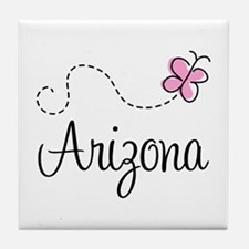 Butterfly Arizona Tile Coaster