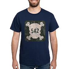 542 & Crossbones T-Shirt