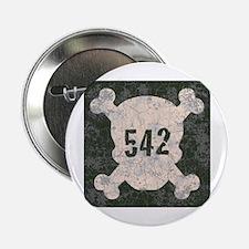 "542 & Crossbones 2.25"" Button"