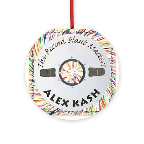 Record Plant Masters Ornament (Round)