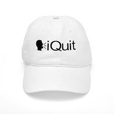 iQuit (Black) Baseball Cap