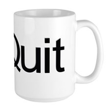 iQuit (Black) Mug