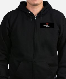 Unique Brooklyn coffee Zip Hoodie