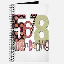 5678 Cheerleading Journal
