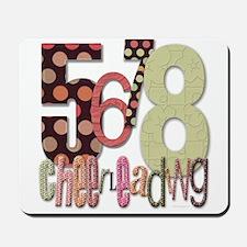 5678 Cheerleading Mousepad