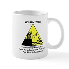 Grandparents Warning Mug