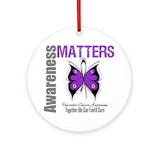 Awareness PancreaticCancer Ornament (Round)