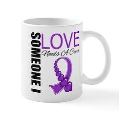 PurpleRibbon NeedsACure Mug