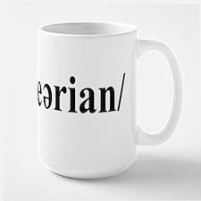 Labeled Mug