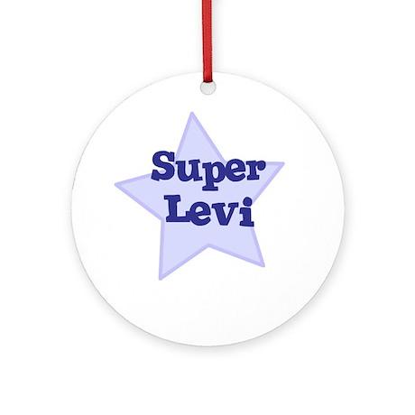 Super Levi Ornament (Round)