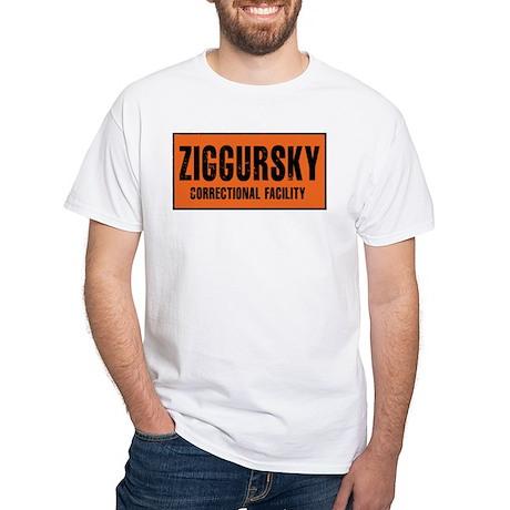 City of Villains Prison White T-Shirt