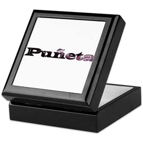 Puñeta Keepsake Box