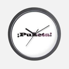 Puñeta Wall Clock