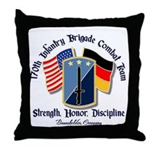 170th Infantry Brigade Throw Pillow