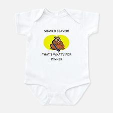 Funny Dinner Infant Bodysuit