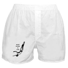 Muff Diving is Fun Boxer Shorts