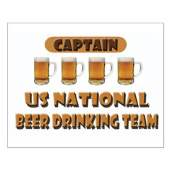 US National Beer Drinking Team Posters
