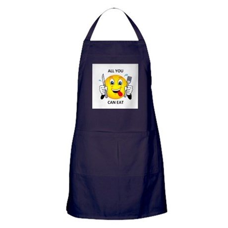 All you can eat Apron (dark)