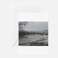 River Beauly perfect peace Greeting Card