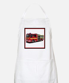 Fire Engine Apron
