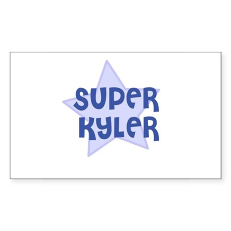 Super Kyler Rectangle Sticker