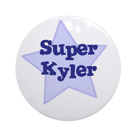 Super Kyler Ornament (Round)