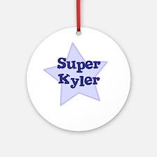 Super Kyler Ornament (Round)