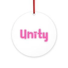 """Unity"" Ornament (Round)"
