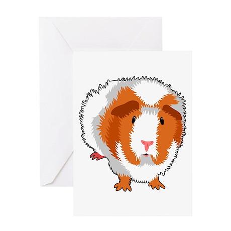 Guinea Pig Greeting Card