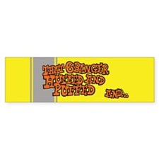 That 6 Banger Huffed & Puffed Bumper Car Sticker