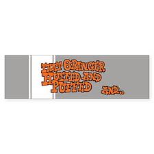 That 6 Banger Huffed & Puffed Bumper Car Sticker