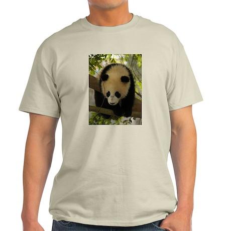 Panda Baby Ash Grey T-Shirt