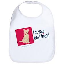 I'm Your Best Friend(Cat) Bib