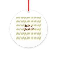 Baby Shower Ornament (Round)