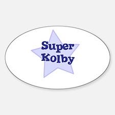 Super Kolby Oval Stickers