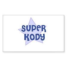 Super Kody Rectangle Decal