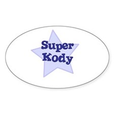 Super Kody Oval Decal