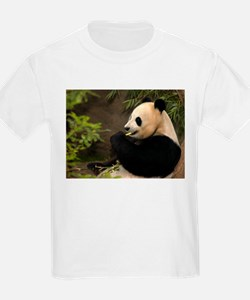 Giant Panda 4 Kids T-Shirt